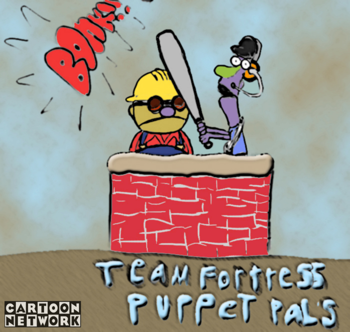 team fortress 2 puppet pals alternate universe know your meme