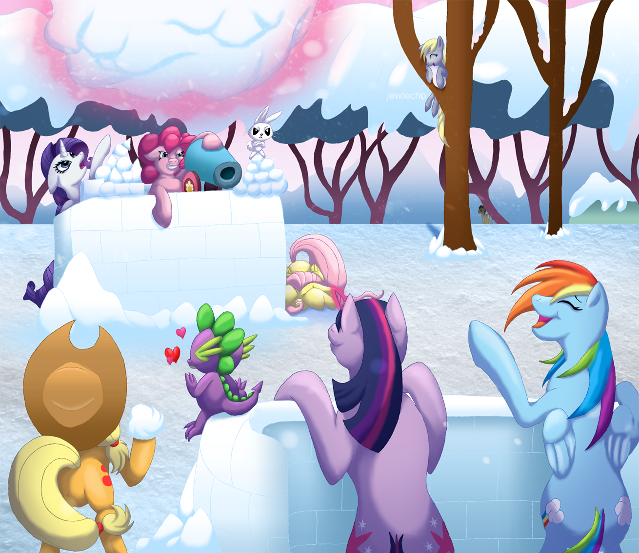 War of the Snowballs | My Little Pony: Friendship is Magic