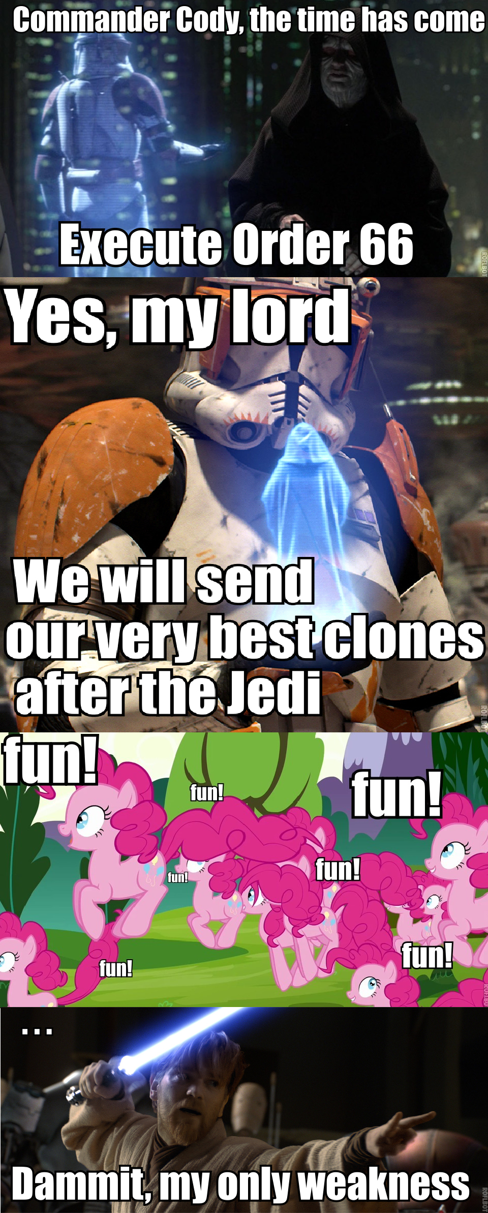 adf order 66 my little pony friendship is magic know your meme