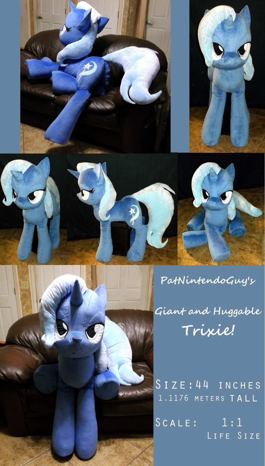 Life Sized Trixie My Little Pony Friendship Is Magic Know Your Meme