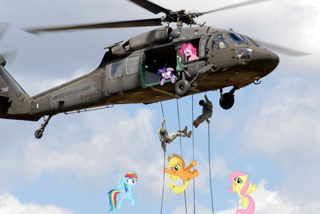 Air Assault Damn I Wanna Go To That School My Little Pony
