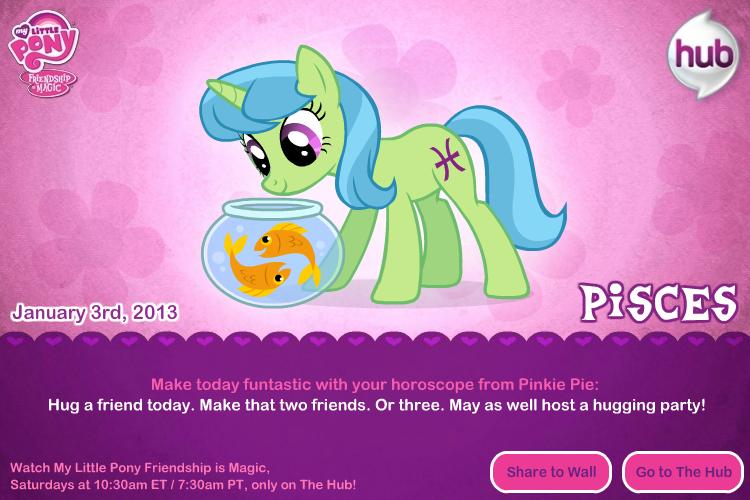 Pisces Ponyscope | My Little Pony: Friendship is Magic