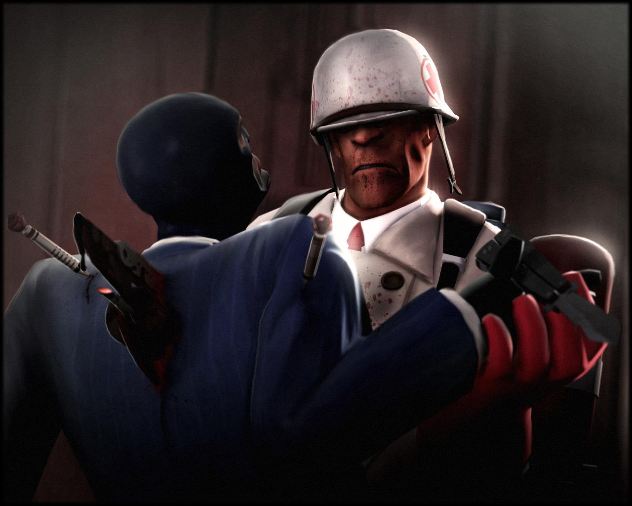 Medic Kills Spy Team Fortress 2 Know Your Meme