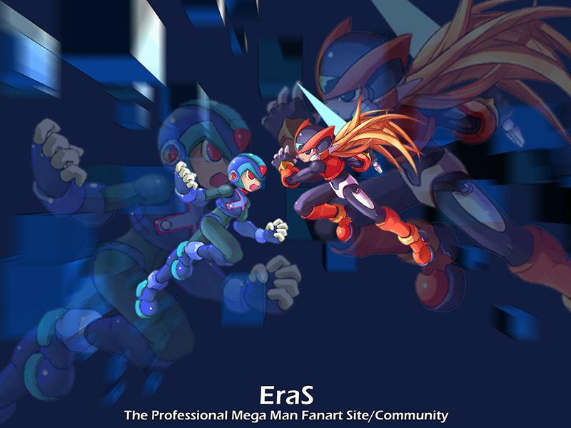 X vs Zero (Mega Man Zero)   Mega Man / Rockman   Know Your Meme