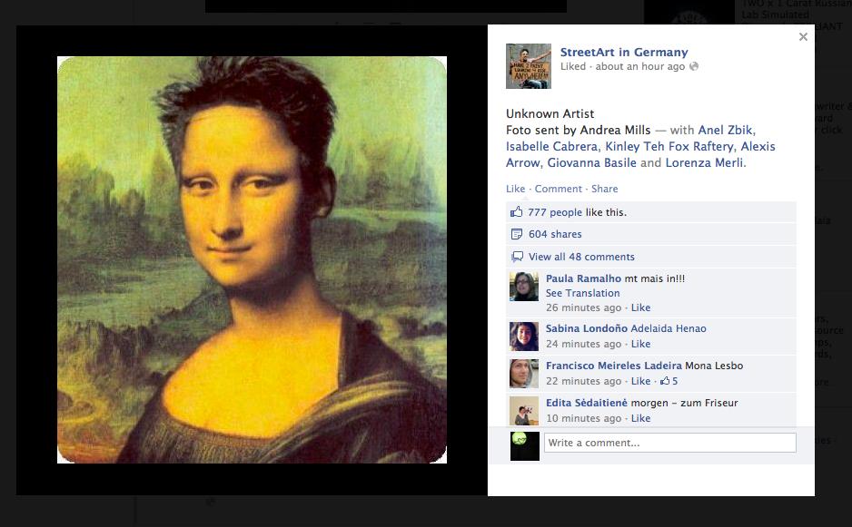 Mona Haircut Mona Lisa Know Your Meme