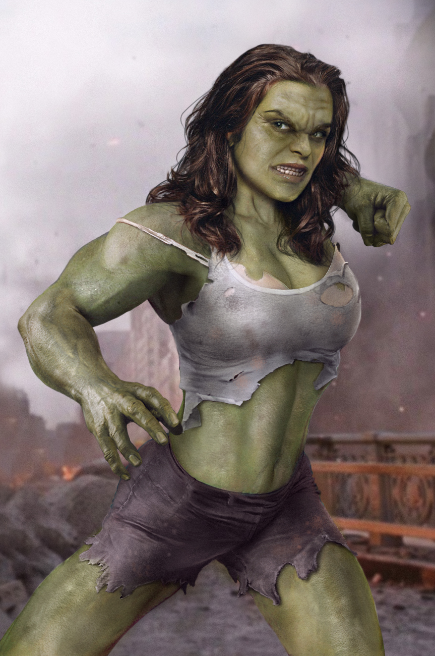 Lady Hulk Rule 63 Know Your Meme