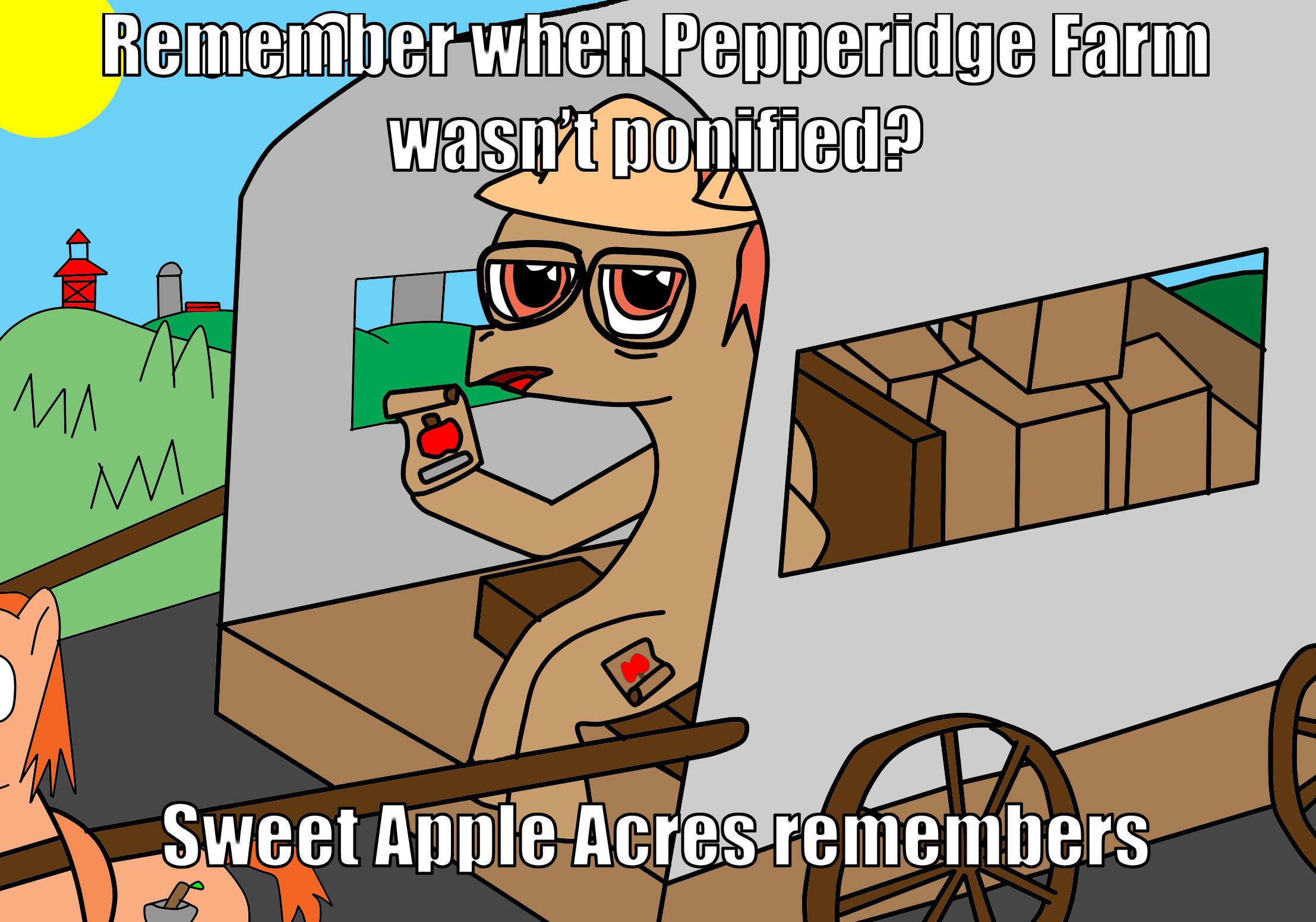 farm remembers meme Pepperidge