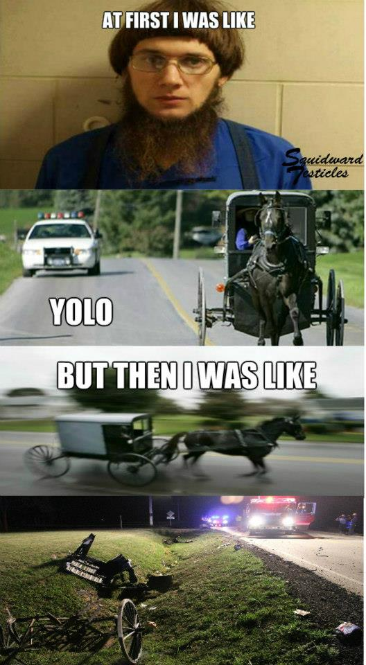 meme was first like At i yolo