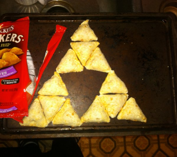 The Triforce Of Nacho Cheese Chips The Legend Of Zelda Know Your