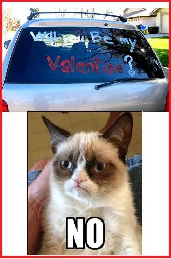 Grumpy Cat Will You Be My Valentine Grumpy Cat Know Your Meme