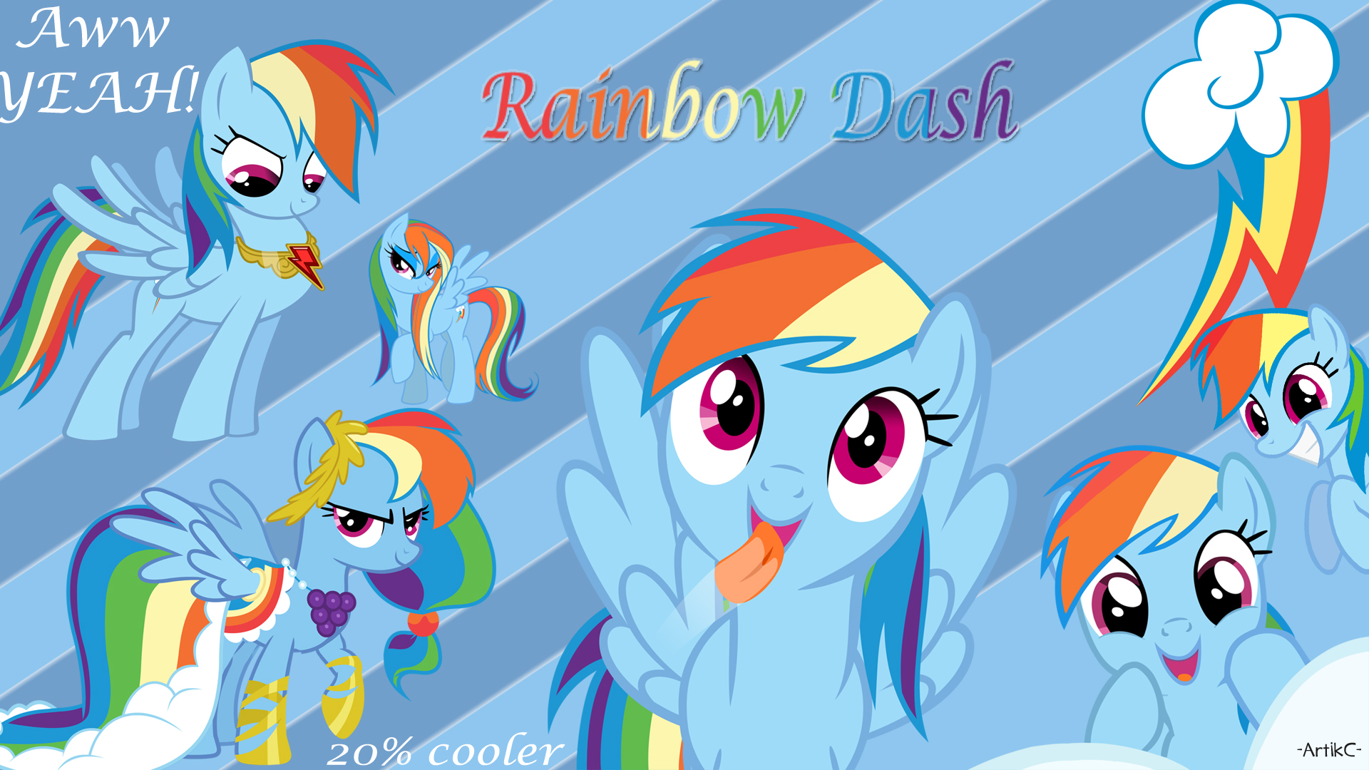Rainbow Dash Ac Wallpaper My Little Pony Friendship Is Magic