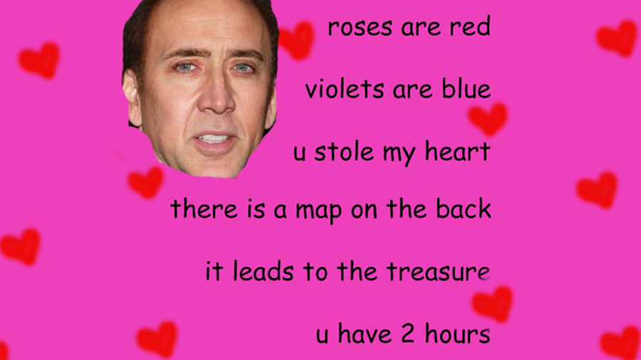 Be My Treasure Valentine S Day E Cards Know Your Meme