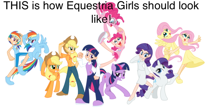 Marvelous THIS Is How Equestria Girls Should Loolk Like 4.