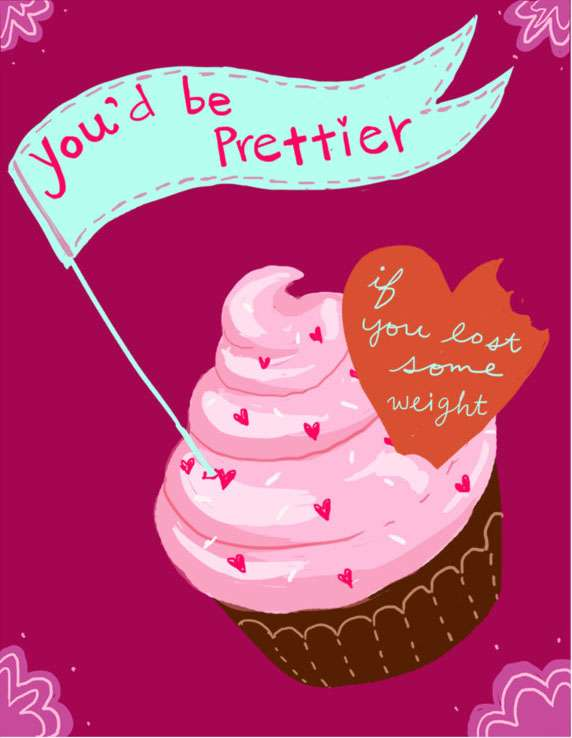 Anti Valentine S Day Card With Cupcake Valentine S Day E Cards