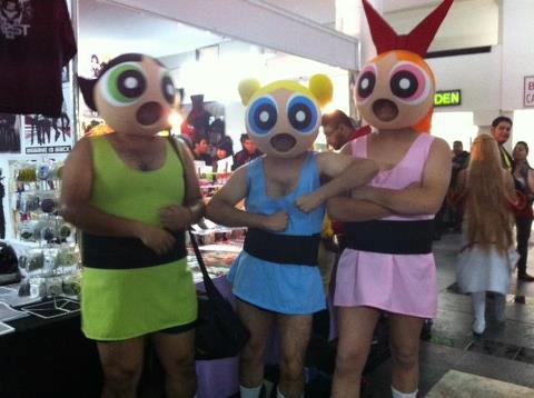 DEN Professor Utonium Costume mascot & Best cosplay ever?   The Powerpuff Girls   Know Your Meme
