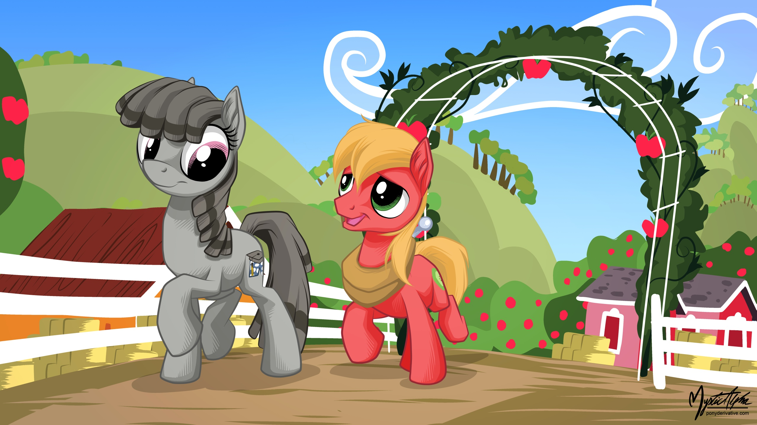 Little Mac And Smarty Pants My Little Pony Friendship Is Magic