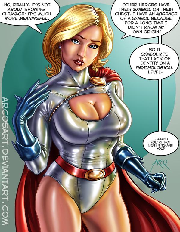 girl boobs Power