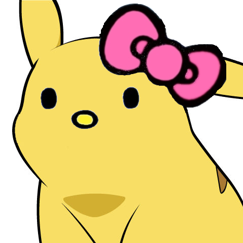 hello kitty pikachu face give pikachu a face know your meme