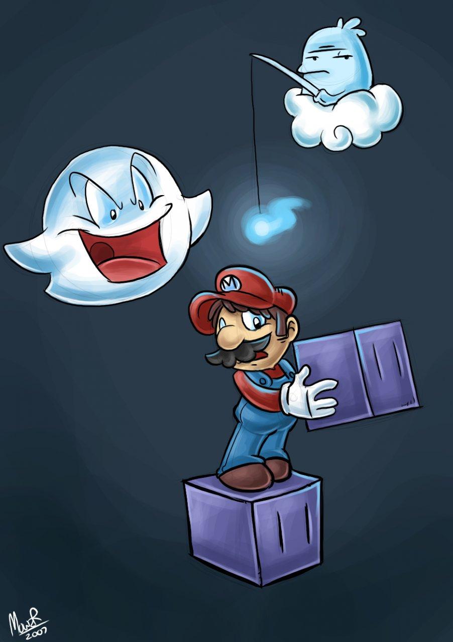 Big Boo Brutality | Kaizo Mario | Know Your Meme