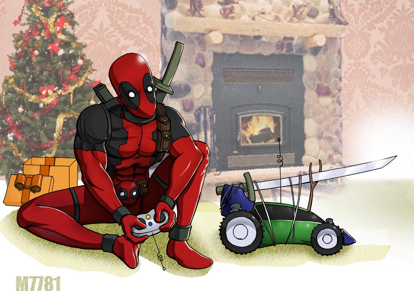 a deadpool christmasm7781 | deadpool / wade wilson | know your meme