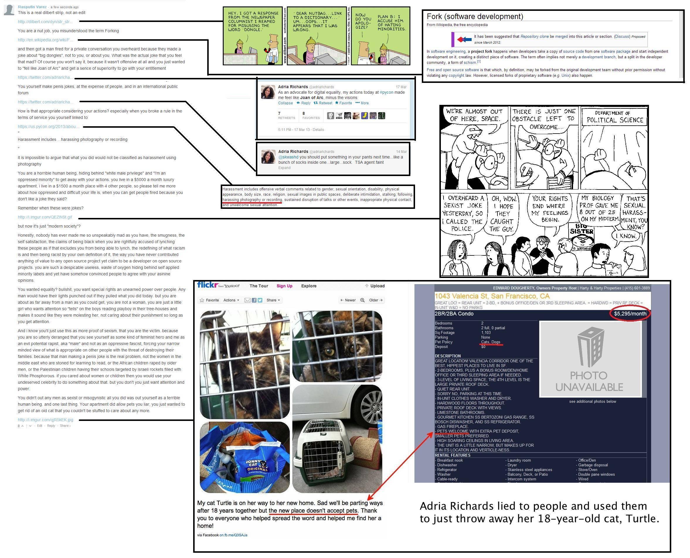 Adria Richards Map Donglegate Adria Richards Know Your Meme