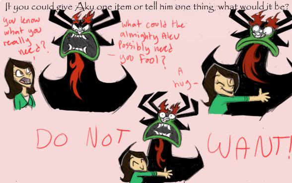Aku Does Not Want Samurai Jack Know Your Meme