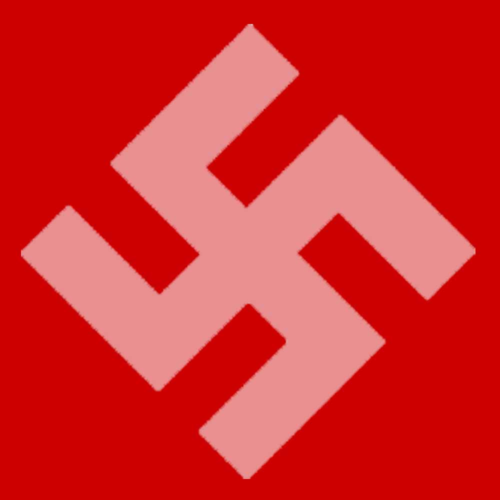 Swastika Red Equal Sign Know Your Meme