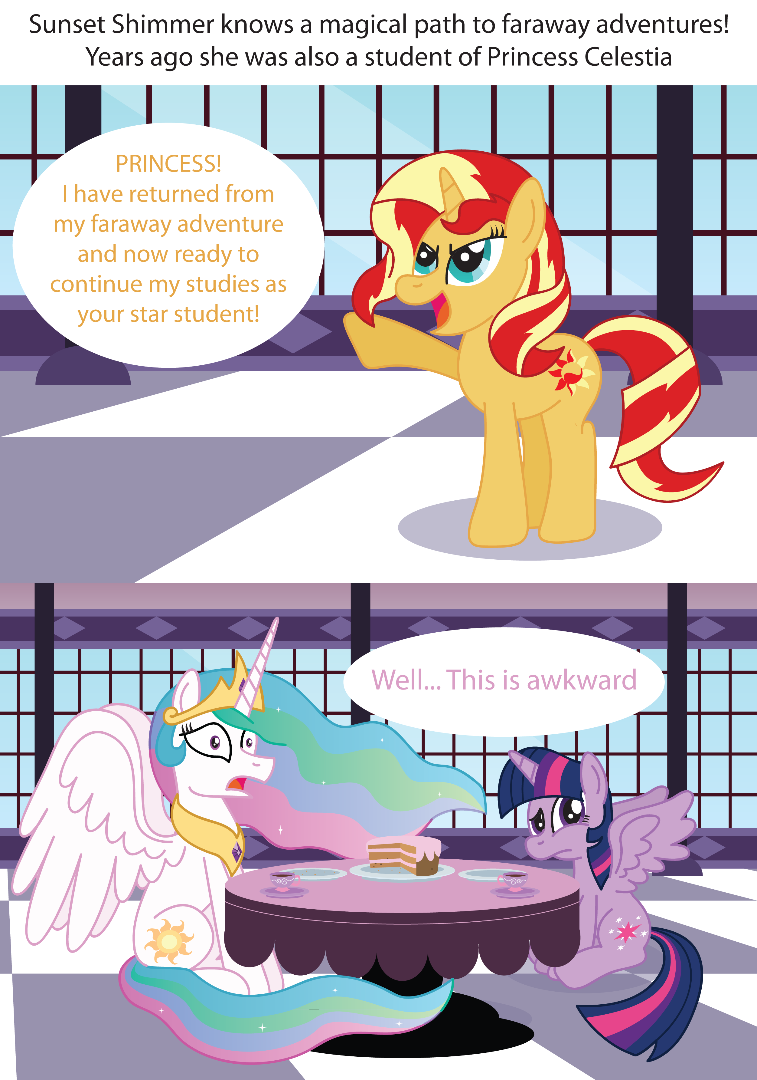 Sunset Shimmer Returns | My Little Pony: Friendship is Magic | Know Your  Meme