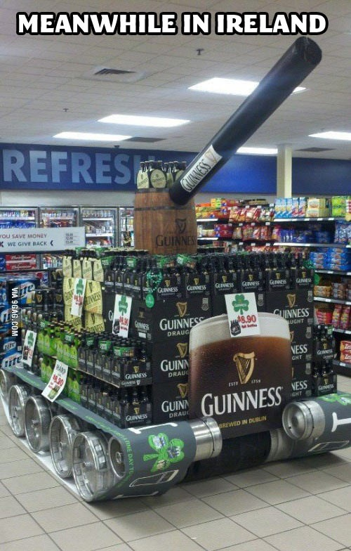 Ireland Supermarket Meanwhile In Know Your Meme