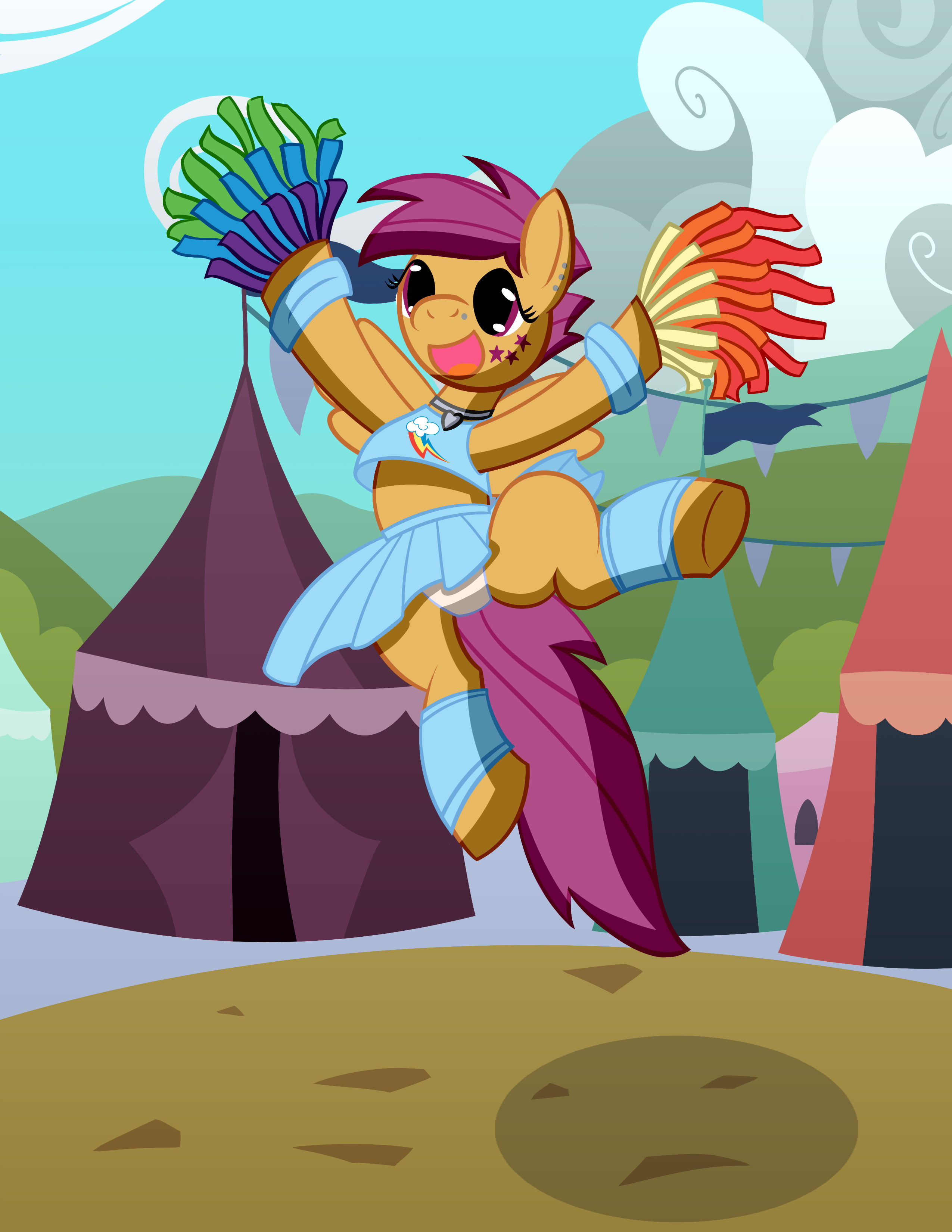 Cheerleader Scootaloo My Little Pony Friendship Is Magic Know Your Meme This video is directed at people age 13 ) i couldn't find the origional meme, i'm sorry. know your meme
