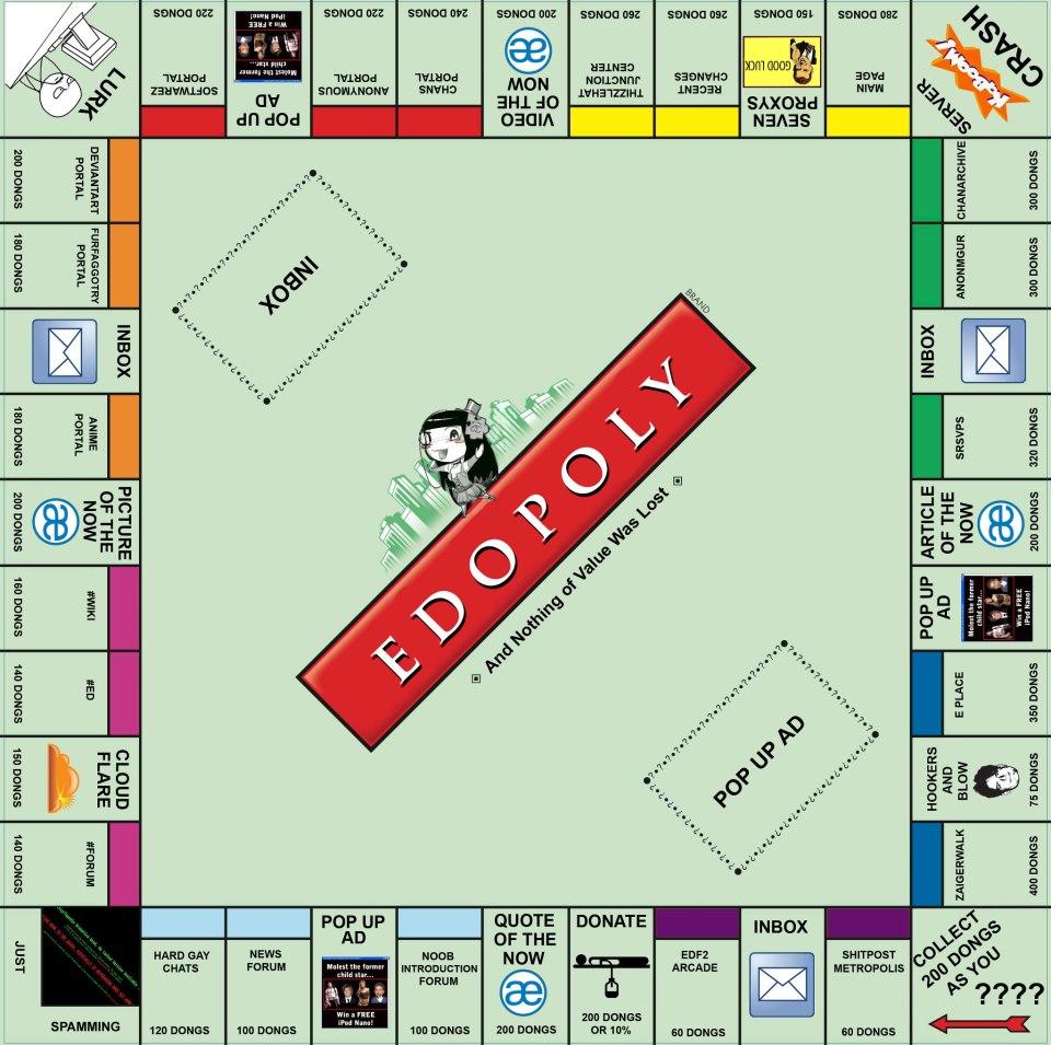 Monopoly Encyclopedia Dramatica Know Your Meme