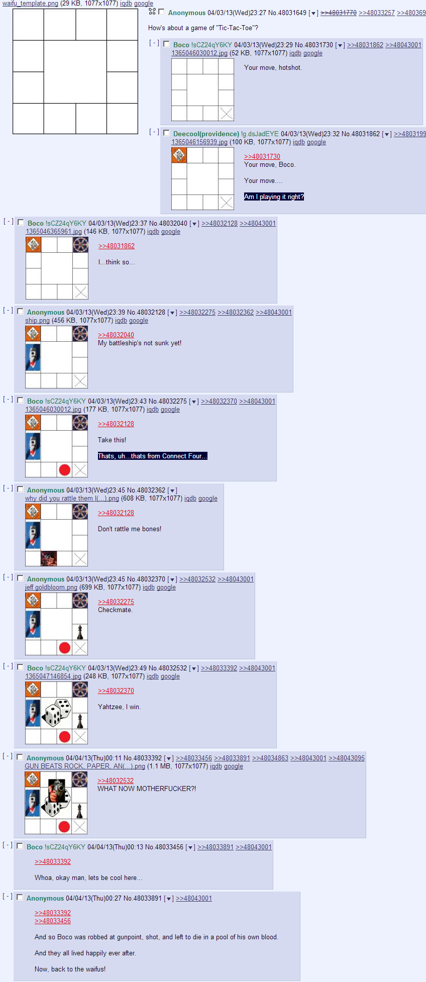 4chan the greatest board game ever played