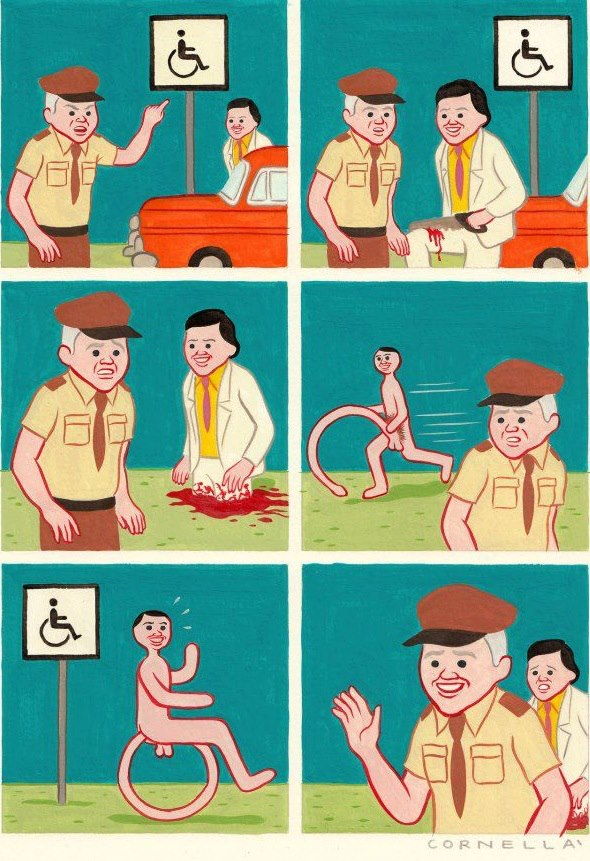 Cornellay Joan Cornella Comics Cartoon Text Human Behavior Fiction Child
