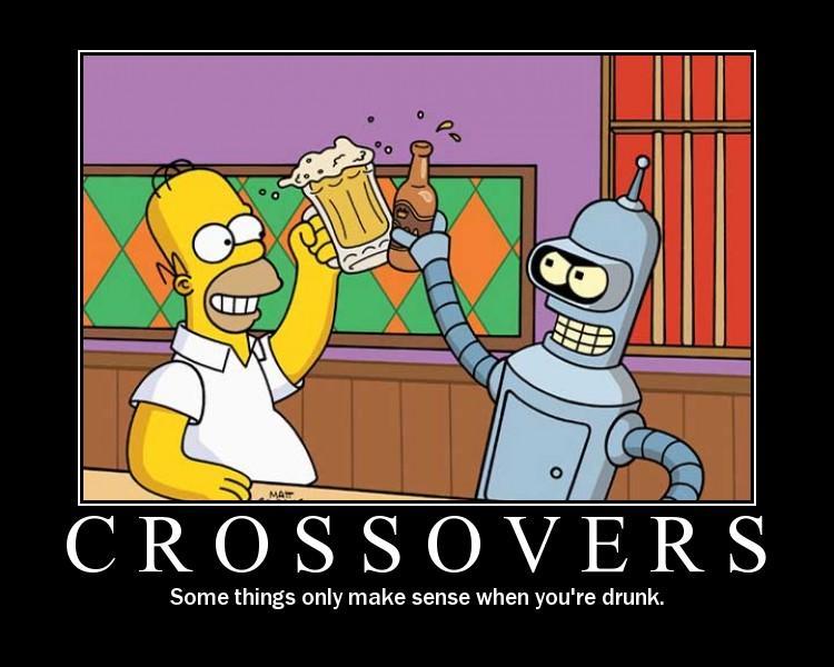 Homer Bender Crossover Know Your Meme