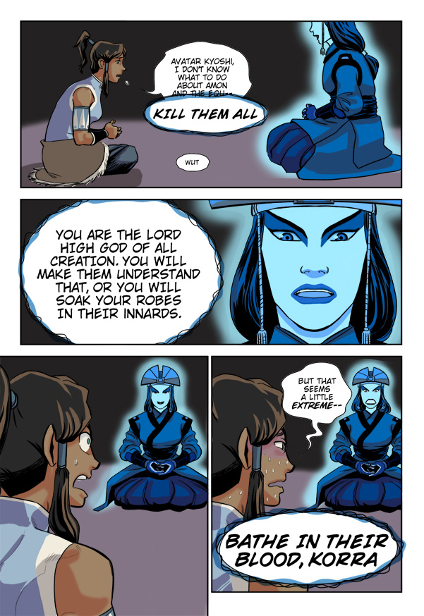 Korra and Kyoshi | Avatar: The Last Airbender / The Legend