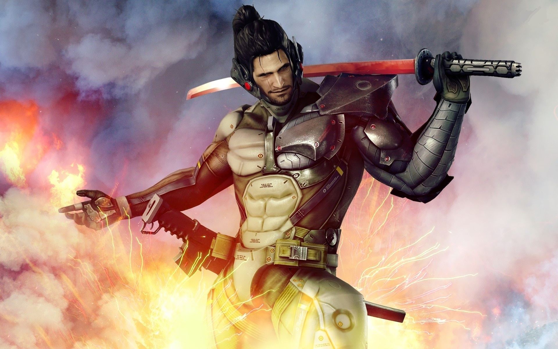 Jetstream Sam Metal Gear Rising Revengeance Know Your Meme