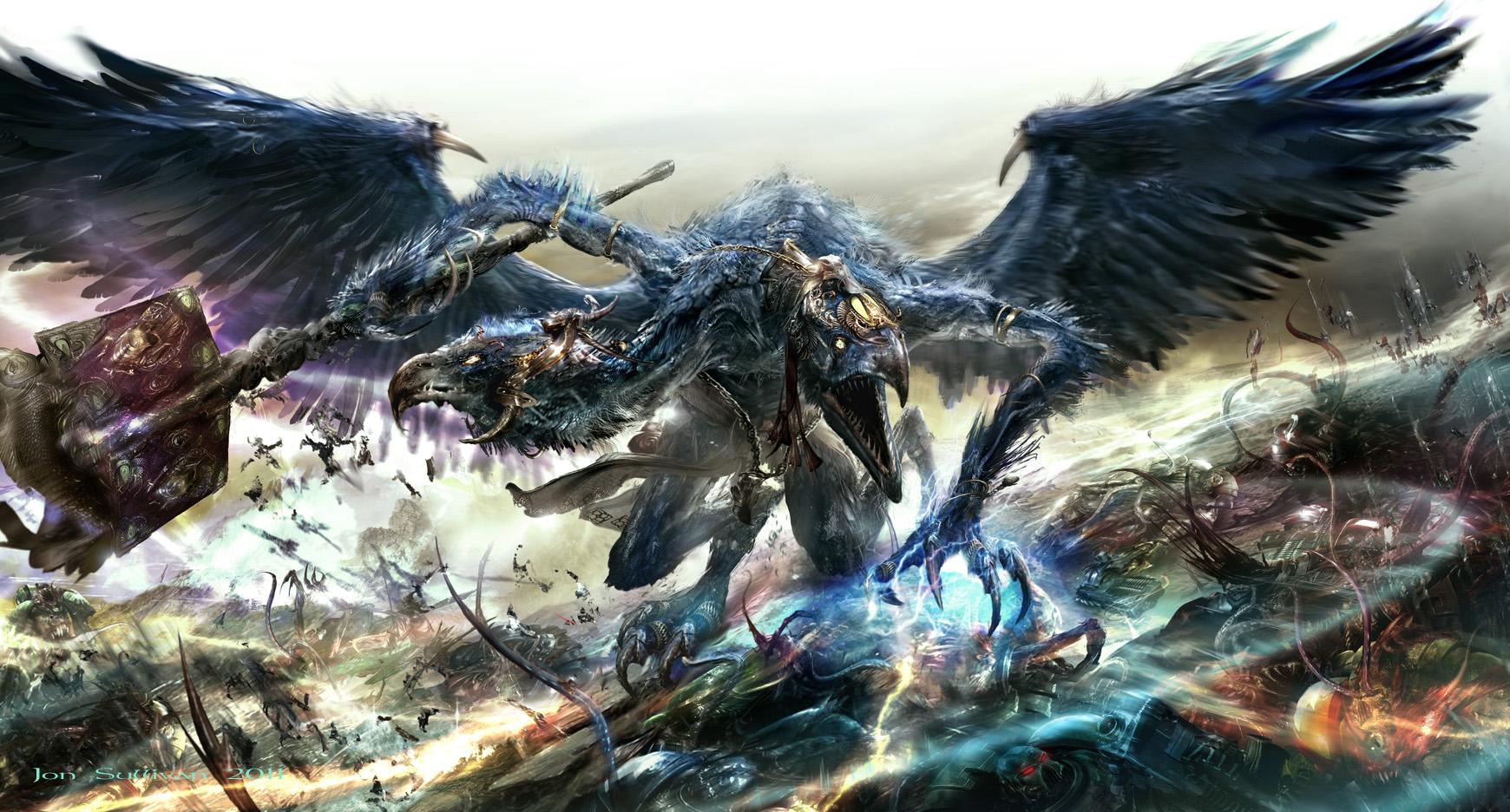 daemon of tzeentch warhammer 40 000 know your meme