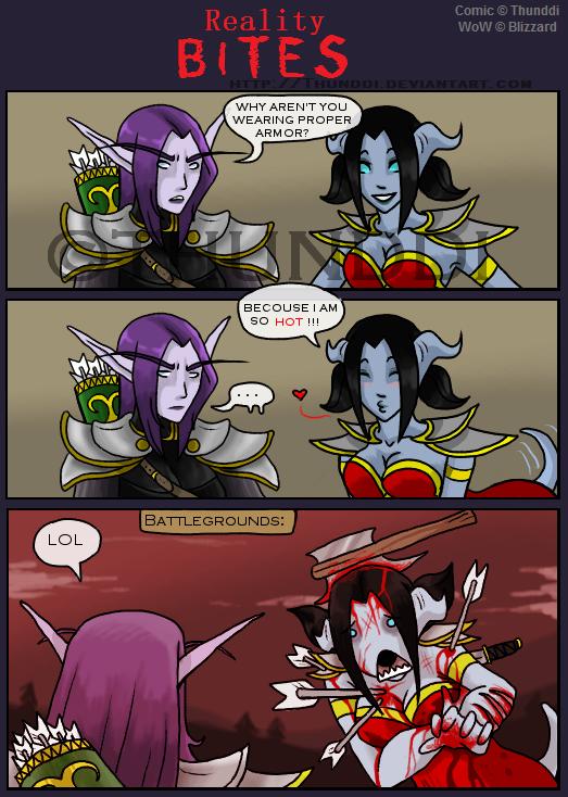 Meme Fantasy female armor