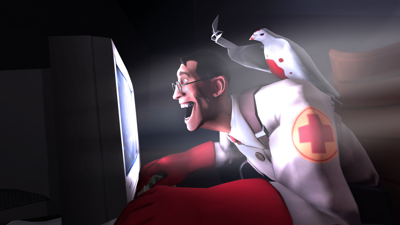 Medic Archimedes Reaction To The New Mecha Medes Team Fortress