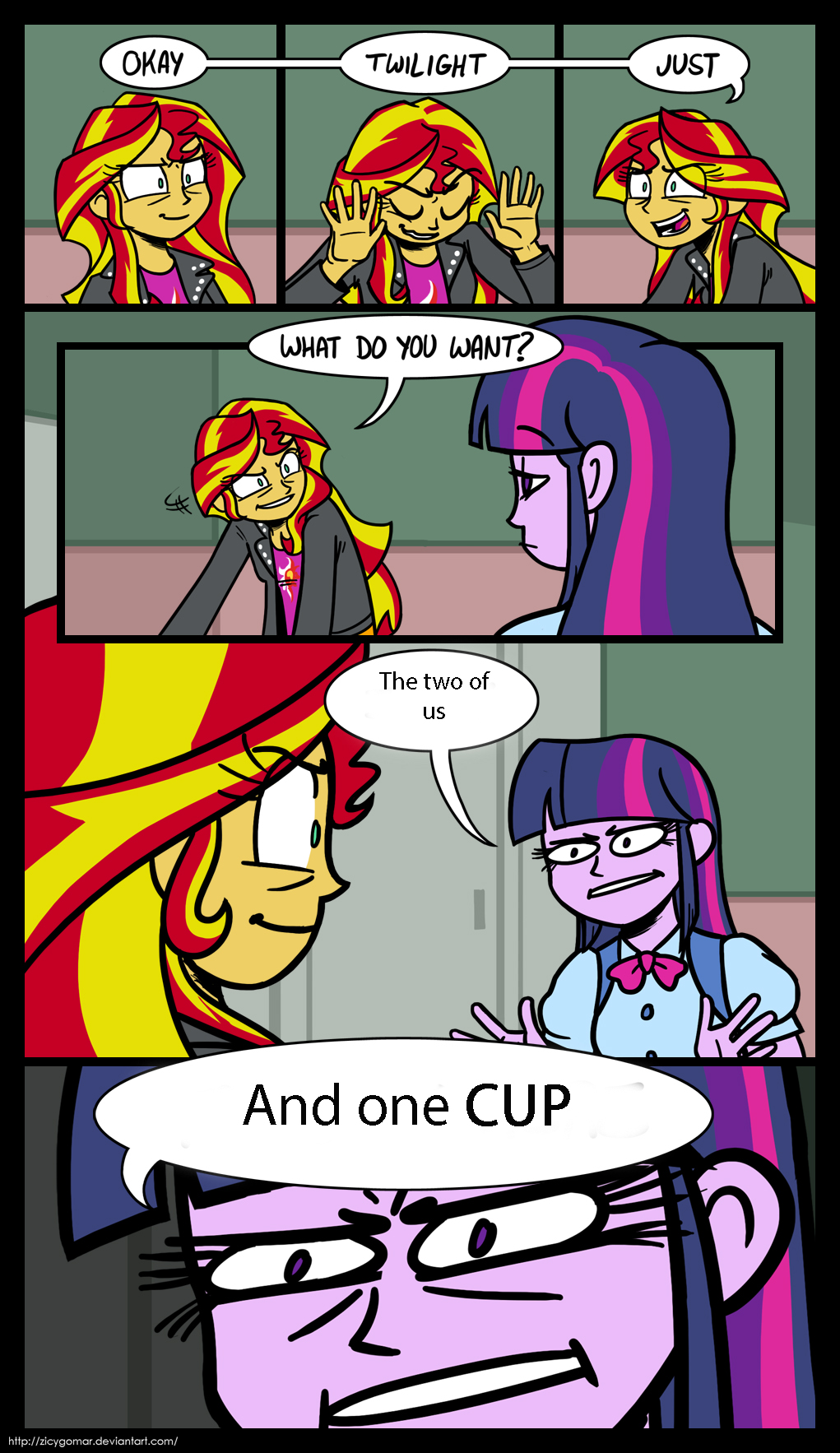 OKAY TWILIGHT JUST WHAT DO YOU WANT The Two Of Us 0 And One CUP