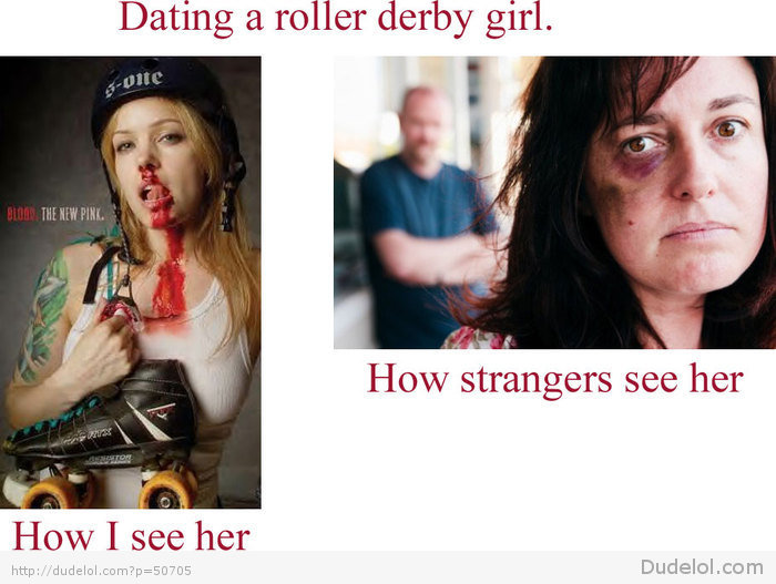 Roller derby dating