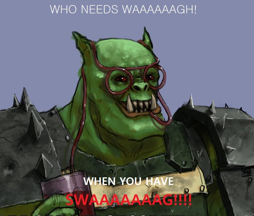 Waaaagh Warhammer 40 000 Know Your Meme