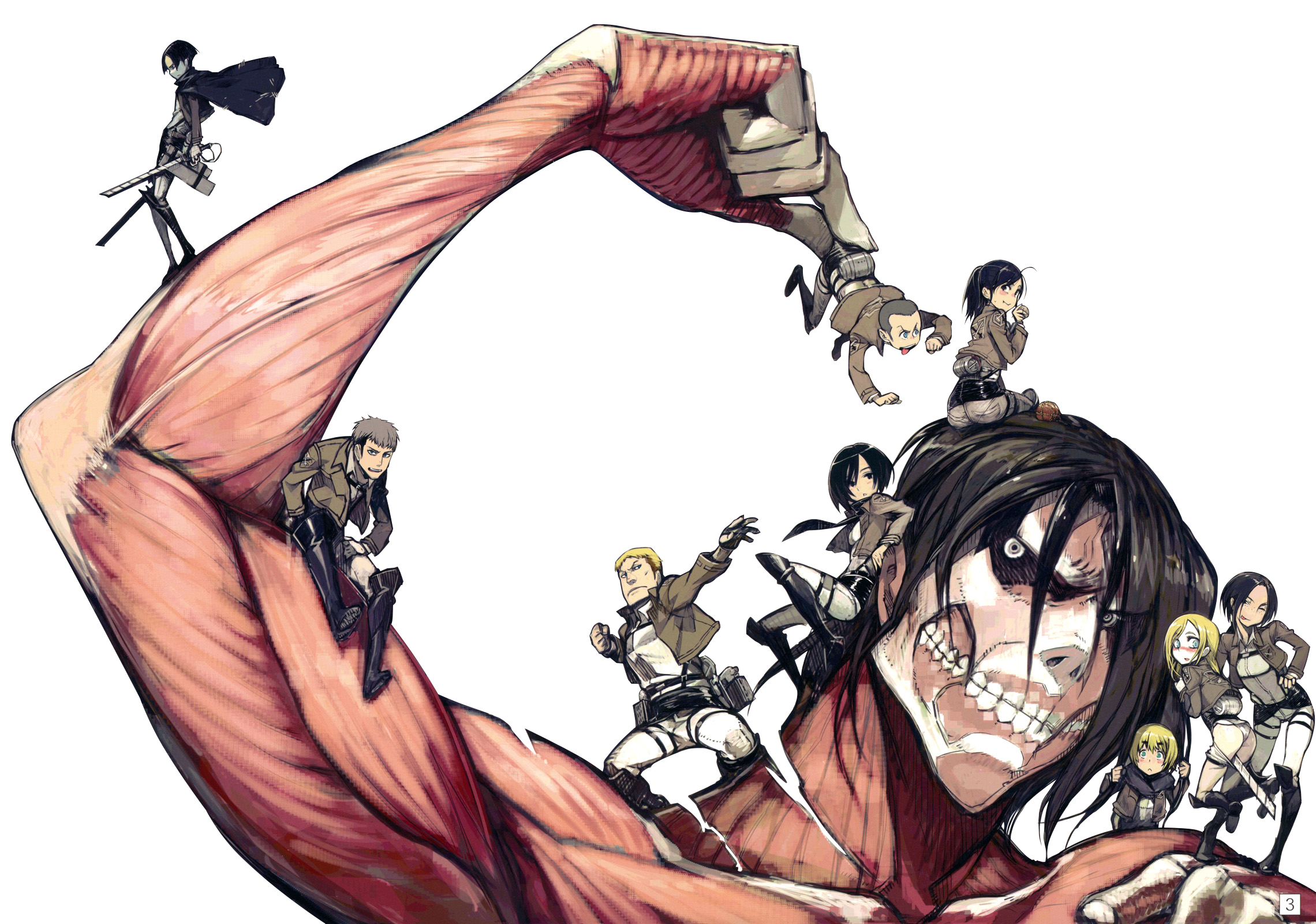 Aot Titan Transparent Background Gambarku