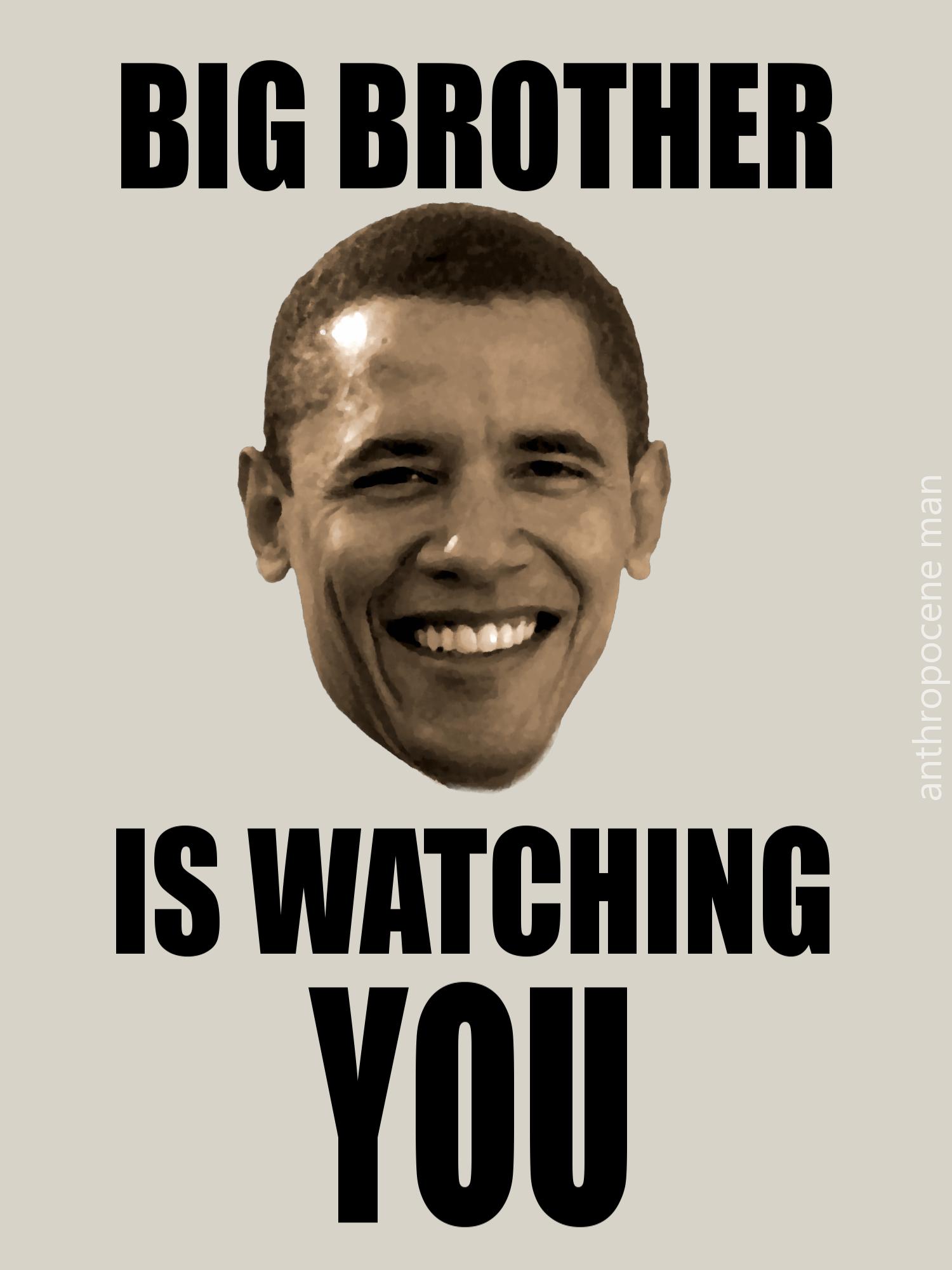 Big Brother Barack Obama Know Your Meme