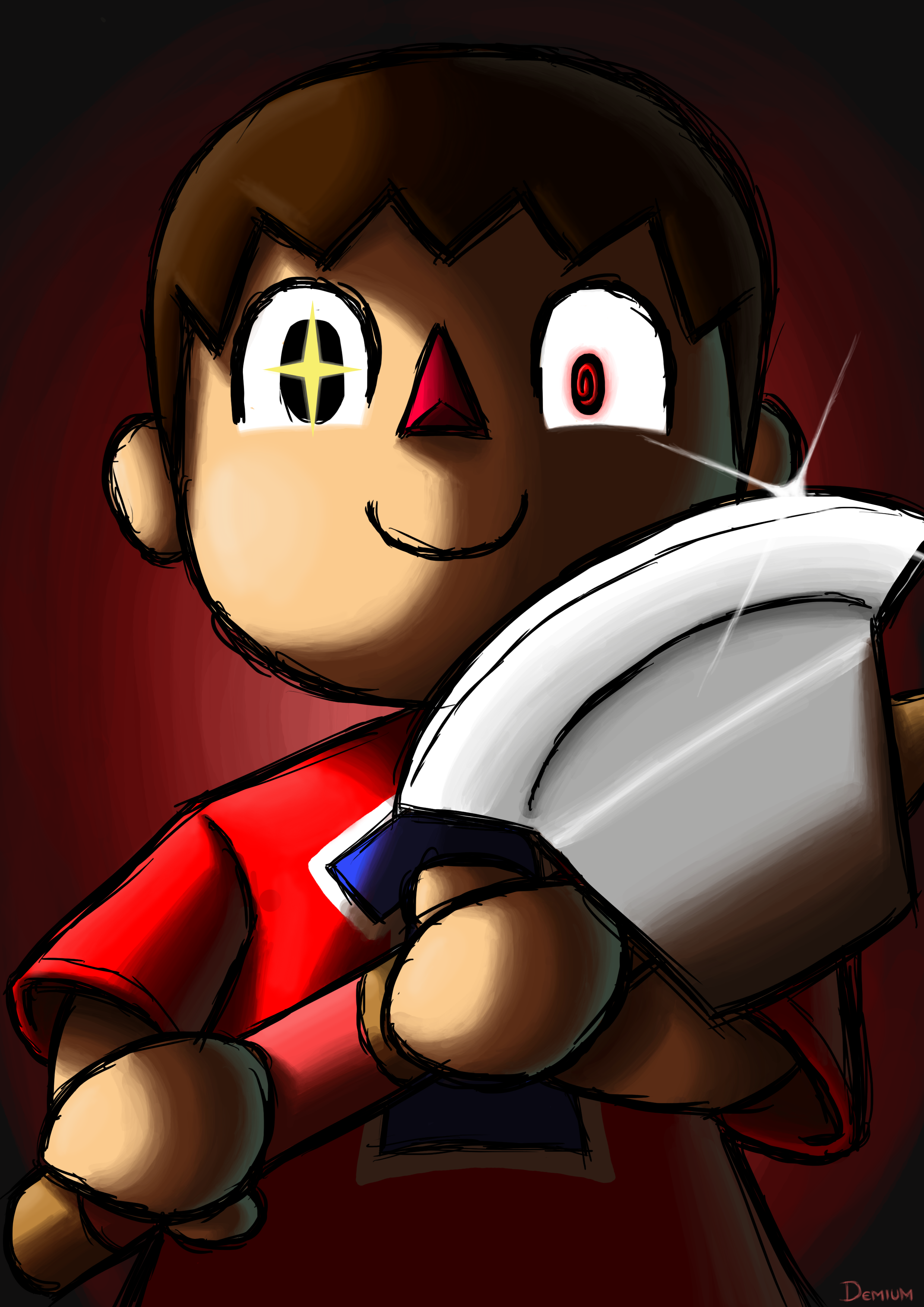 Villager joins the party    prepare your anus    | Creepy Villager