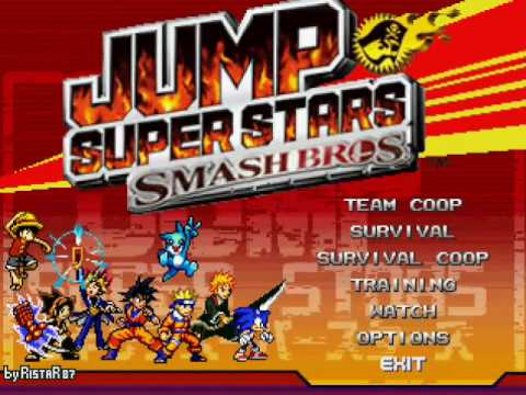 Jump Super Star Smash Bros Mugen Mugen Know Your Meme