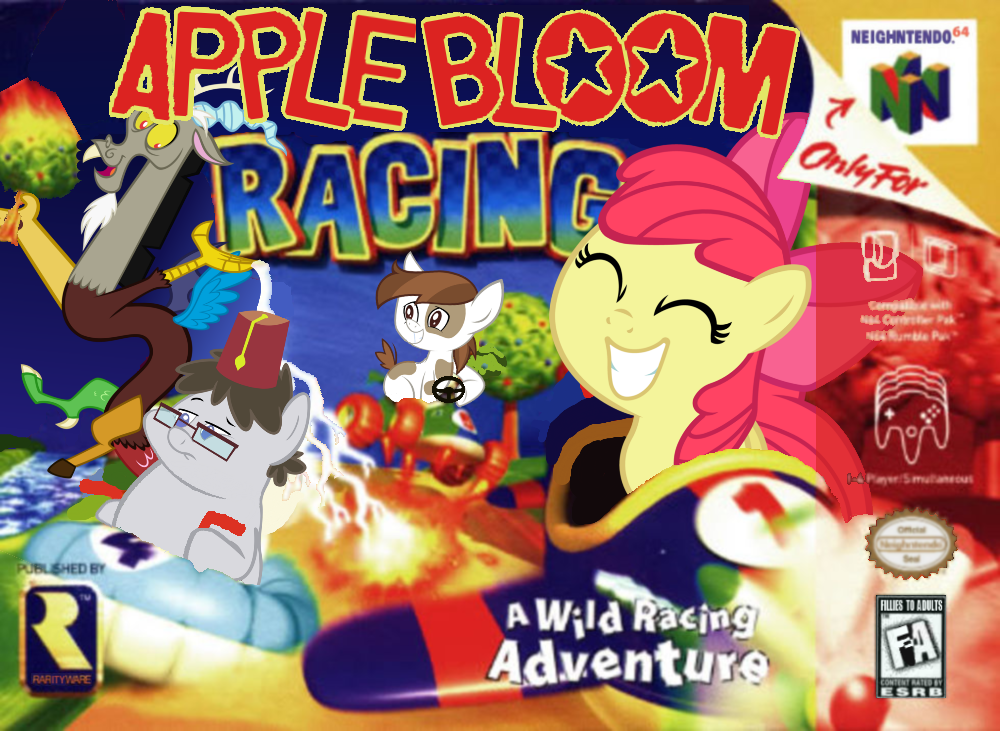 apple bloom racing my little pony friendship is magic know your