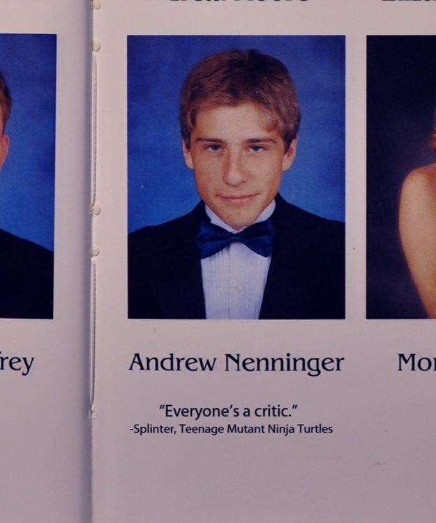 Serious Senior Quotes Image   563235] | High School Senior Yearbook Photos | Know Your Meme Serious Senior Quotes