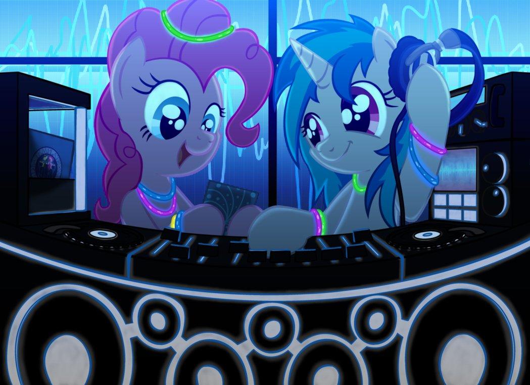 Pinkie Pie Rainbow Dash Pony Purple Technology