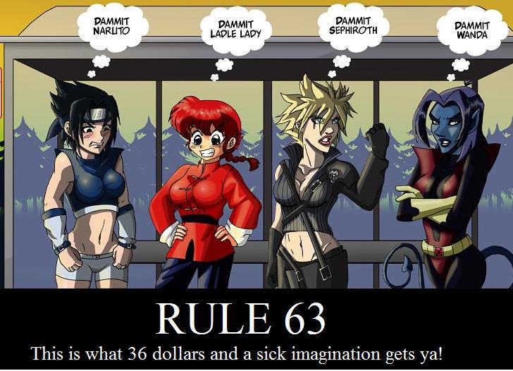 Rule 63 Rule 34